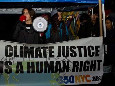 Climate justice is a human right.